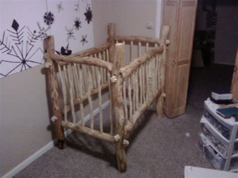1000 Images About Log Cribs On Pinterest Log Crib Baby Log Baby Cribs
