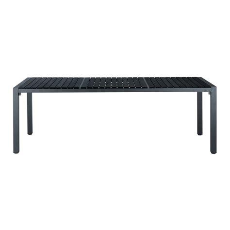 tavolo nero tavolo nero da giardino in materiale composito simil legno