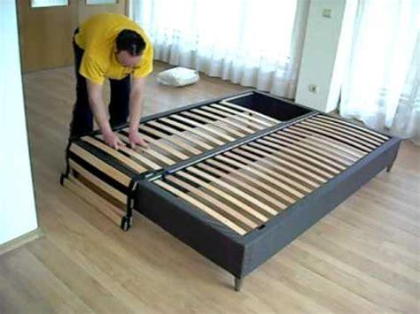 ikea espevar bed set up