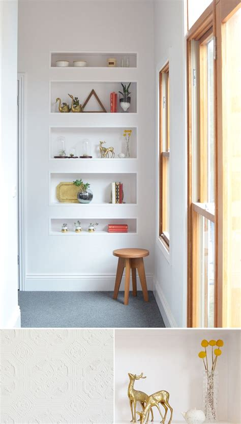 bathroom recessed shelves 17 best ideas about recessed shelves on