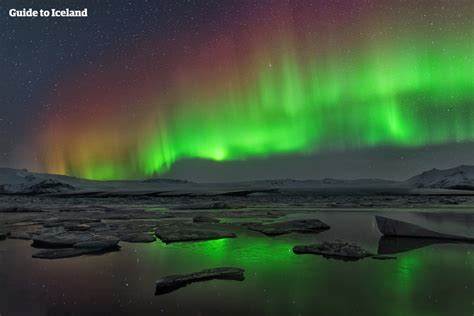 where do the northern lights come from northern lights at jokulsarlon glacier lagoon 4 jpg auto