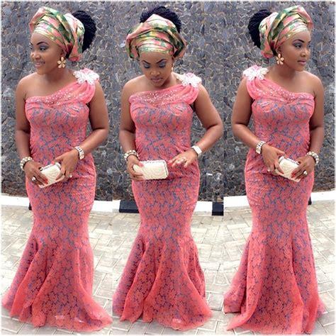 code lace asoebi styles top ten beautiful aso ebi styles with cord lace dabonke