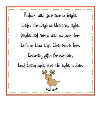 christmss preschool poems rudolph poem pdf poem pdf and finger plays