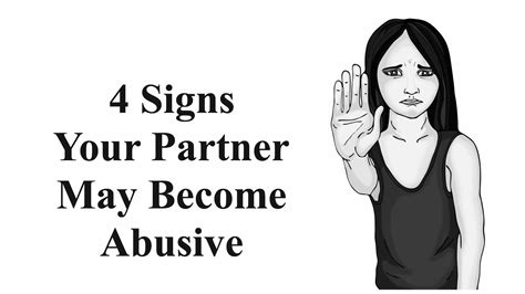 Signs You And Your Partner May Need A by 4 Signs Your Partner May Become Abusive