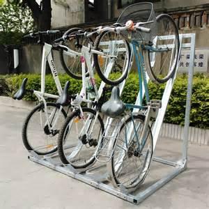 high quality semi vertical bike storage rack outdoor bike