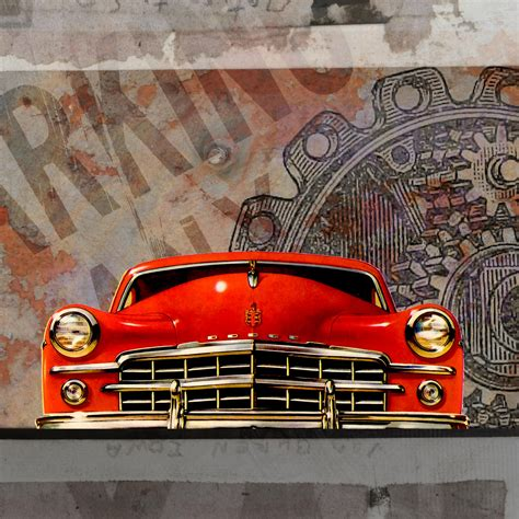 Automotive Vintage Artwork 15 vintage car collage 1923 free stock photo