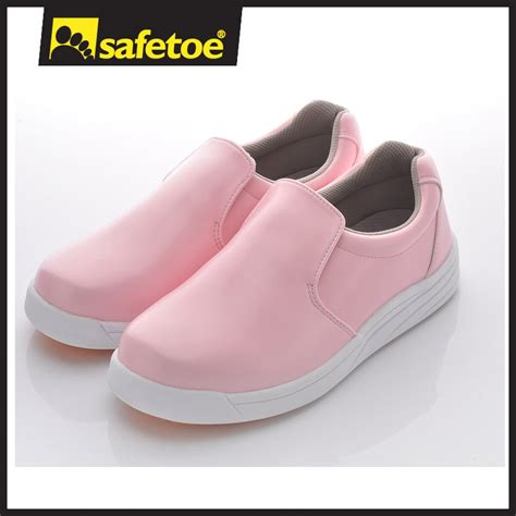 Sepatu Sneakers Wanita S307 Pink pink color safety shoes with high heel shoes