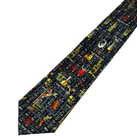 chemistry periodic table novelty tie from ties planet uk