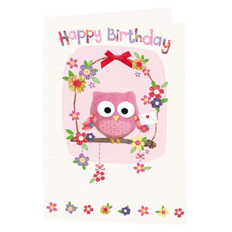 birthday cards for owl birthday card greeting cards