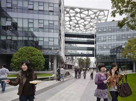 alibaba office alibaba headquarters hangzhou building china e architect