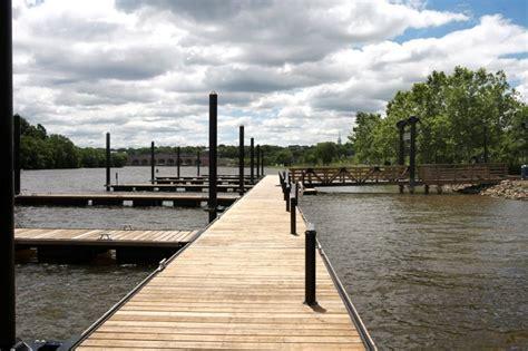 boat dock nj new floating dock makes a splash in new brunswick nj