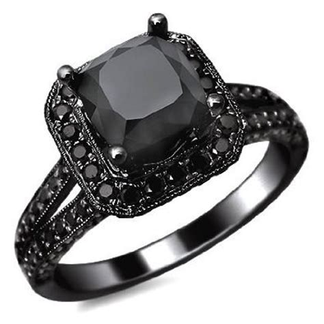 black ring engagement rings review