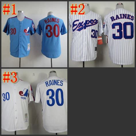 Jersey Baseball Limited 1 free shipping wholesale retail montreal expos jersey 30