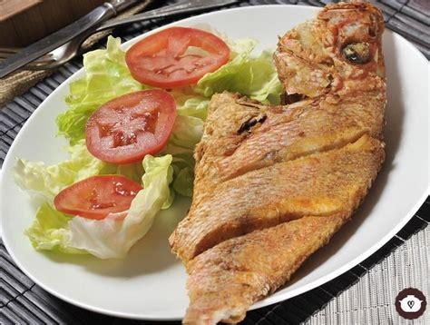 recetas cocina pescado receta pescado frito entero cyc