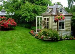 haus und garten backyard landscaping design ideas charming cottages and sheds