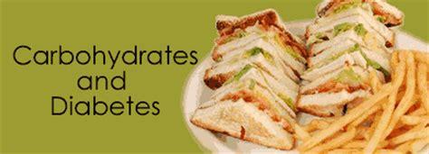 diabetes 2 carbohydrates carbohydrates and diabetes