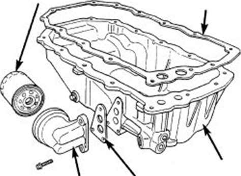 2005 chrysler 300 oil filter bolt seal install repair guides engine mechanical components oil pan autozone com
