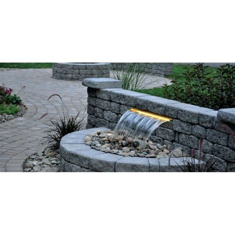 Atlantic Pond Supply Classic Colorfalls Lighted Waterfall Weirs