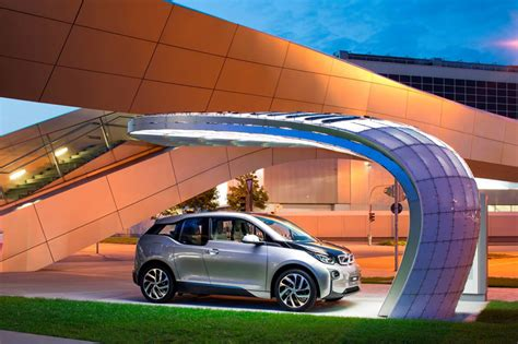 Charger Vizz Fast Charging 21 A eight installs solar powered fast charging station at bmw welt