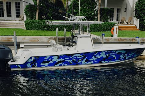 boat wraps for fishing boats wrapped up boat vehicle wraps daytona beach florida