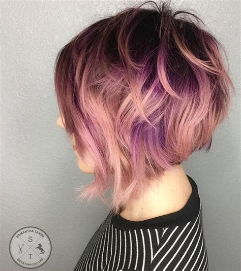 reverse bob with two tone color best 25 stacked inverted bob ideas on pinterest stacked