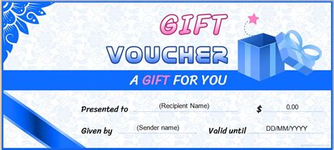 gift voucher templates  ms word editable word excel