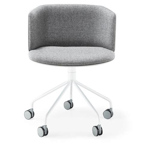 armless desk chair with wheels grey la palma rolling armless office chairs with wheels