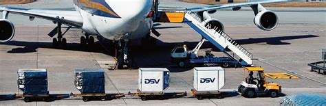 we agreements with leading air freight carriers dsv
