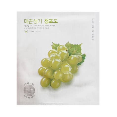 Masker Nature Republic nature republic real nature hydrogel mask 1pcs ebay