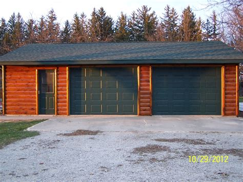 Prime Line Kitchens by Renovating A Detached Garage With Log Cabin Wood Siding