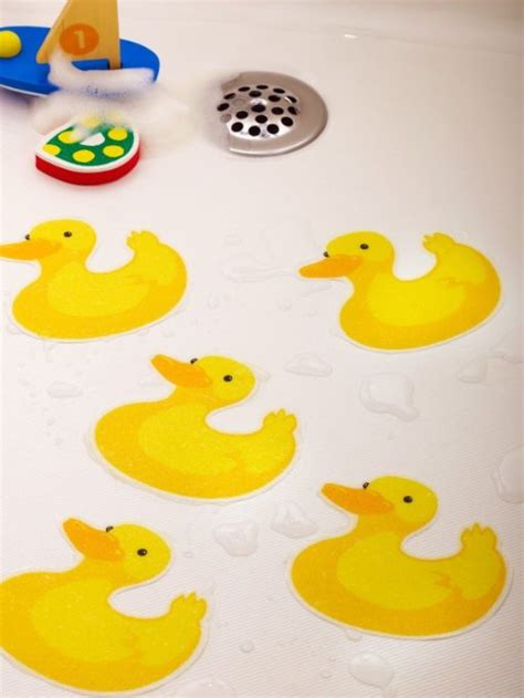 non skid bathtub appliques buy bathtub stickers ducks safety decals treads non slip