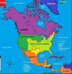 Map Of Nort America by Map Of North America By Generalalcazar On Deviantart