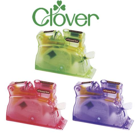 clover desk needle threader 3 colours sewing accessories craft hobby ebay