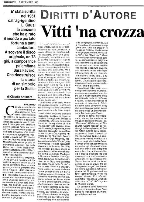 Contrario Di Vanitoso - testo vitti na crozza 28 images testo vitti na crozza