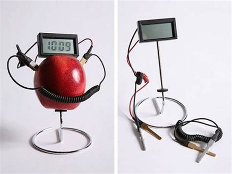 Fruit Powered Clock by Page 3 Of Articles In The Clocks Category Slipperybrick