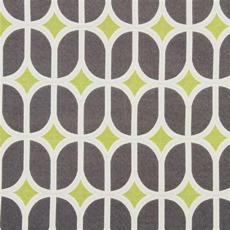 grey pattern upholstery fabric grey geometric upholstery fabric modern lime green