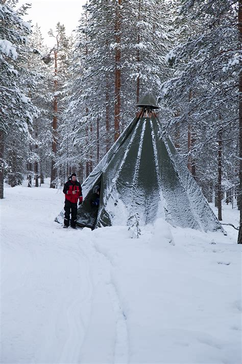 finland in december northern lights lapland 2015