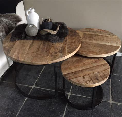 ronde poef salontafel salontafels hallo voor sfeervol wonen