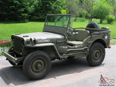 Willys Mb Jeep 1945 Willys Mb Army Jeep Gpw