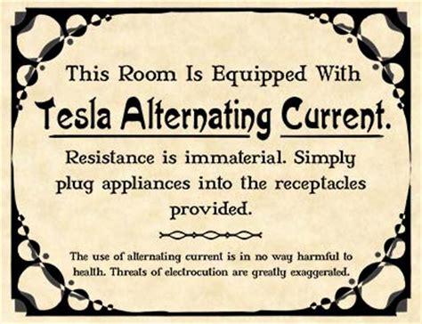 Tesla Current Tesla Vs Edison Nikola Tesla