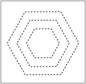 hexagon templates for quilting free free printable quilting hexagon shape