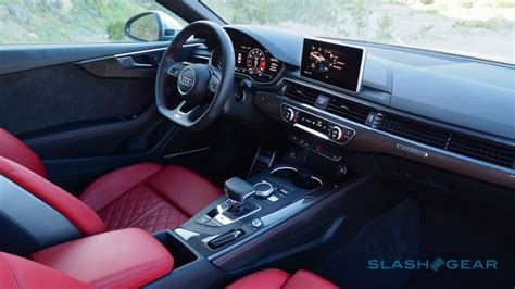 audi s5 interior 2018 audi s5 coupe and s4 sedan drive seriously