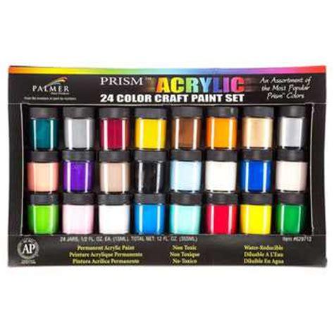 prism acrylic paint 24 jar set hobby lobby 1041342