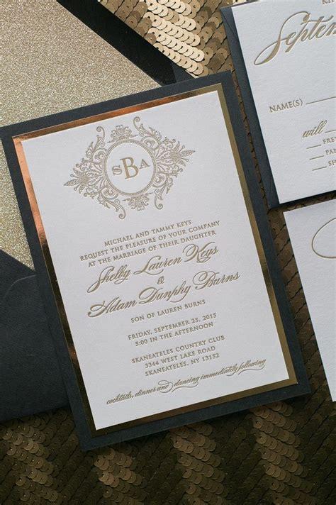 wedding invitation black and amazing black tie wedding invitations theruntime