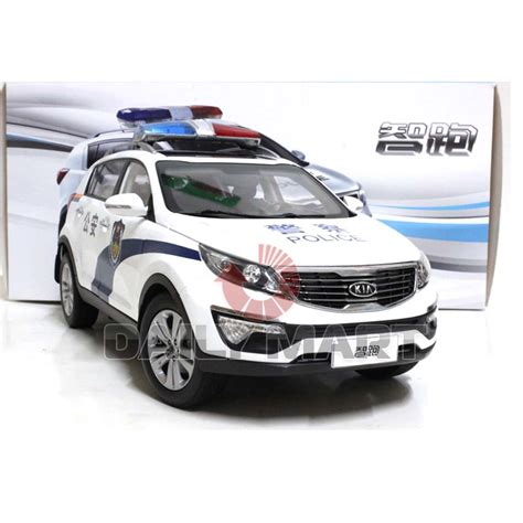 Kia Model Cars 1 18 Scale Kia Sportage R China White Diecast