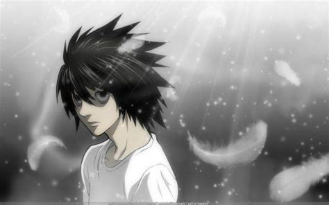 L Anime Wallpaper by Anime Note Lawliet L Anime Boys Wallpapers Hd