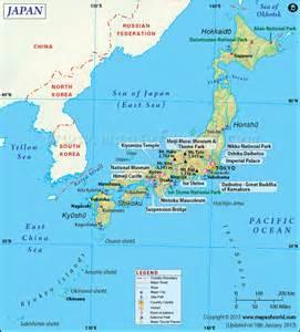 map of the world japan map of japan japan archipelago