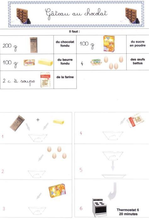 recette cuisine maternelle g 226 teau au chocolat photo de recettes de cuisine ecole