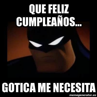 imagenes memes feliz meme disapproving batman que feliz cumplea 209 os gotica