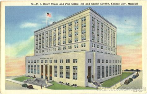 Us Post Office Kansas City Mo by U S Court House And Post Office 9th And Grand Avenue